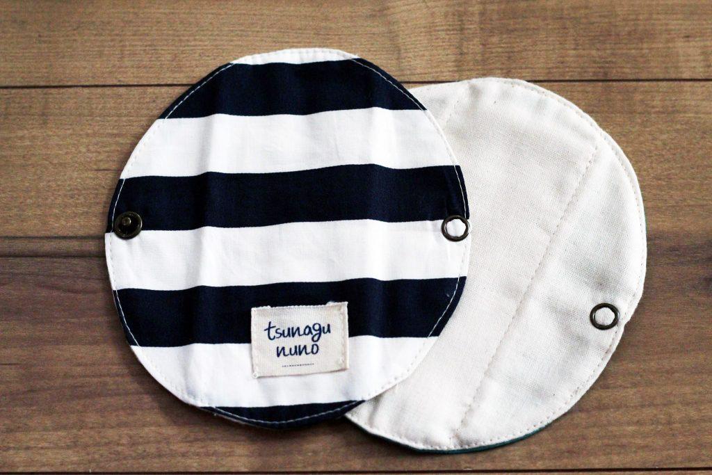 tsunagununo(ツナグ布)オリジナル布ナプキン「プレナプキン」ストライプ